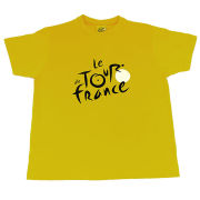 Tour De France Logo T-Shirt - Yellow