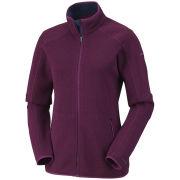 Columbia Women's Altitude Aspect Full Zip Fleece Jacket - Dark Raspberry