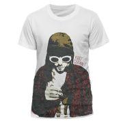 Kurt Cobain Men's T-Shirt - Posterized