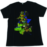 Teenage Mutant Ninja Turtles Kids' T-Shirt - Lean, Mean, Green - White