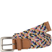 Jack & Jones Men's Urban Elastic Belt - Multi/Tan