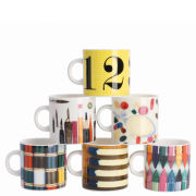 Eames Office House of Cards Set of 6 Espresso Cups