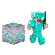 Minecraft - 3 Inch Diamond Steve Figure