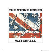 The Stone Roses Waterfall - 40 x 40cm Print