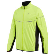 Saucony Men's Nomad Running Jacket - ViziPro/Citron/Black