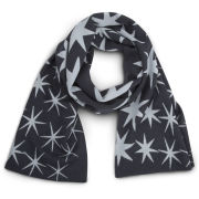 Matthew Williamson Star Print Scarf Pacific - Midnight