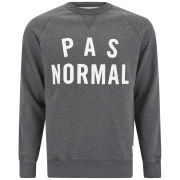 Wood Wood Men's Hester 'PAS NORMAL' Sweatshirt - Charcoal