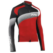 Northwave Men's Bullet Long Sleeve Jersey - Red/Black
