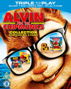 Alvin and the Chipmunks Triple Pack - Alvin / The Squeakquel / Chipwrecked (Includes Digital Copy)