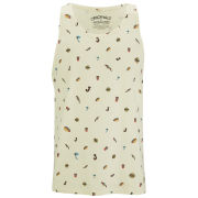 Jack & Jones Mens Zoo Tank Top - Cloud Cream