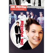 One Direction Louis Tomlinson - Vinyl Sticker - 10 x 15cm