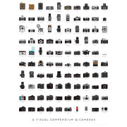 Pop Chart Lab Cameras Art Print