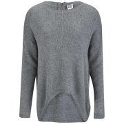 Vero Moda Women's Macro Jumper - Grey