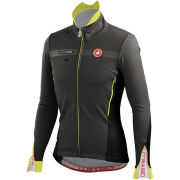 Castelli Espresso 3 Jacket - Anthracite/Black/Yellow Fluo
