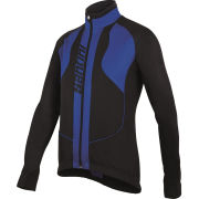 Santini Rebel Water Resistant and Windproof Jacket - Black/Blue