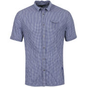 Full Circle Men's Sharppoint Checked Shirt - Royal Blue