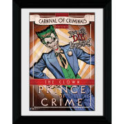 Batman Circus Joker - 30 x 40cm Collector Prints