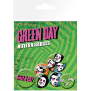 Green Day Uno Dos Tres - Badge Pack