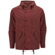 Weekend Offender Men's Lindbergh Two Tone Wax Coated Jacket - Rust