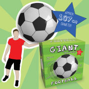 Giant Inflatable Football - Black/White