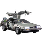 Hot Toys Back To The Future Delorean 1:6 Scale Collectible Model