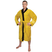 Star Trek Captain Kirk Towelling Bathrobe - Gold (One Size)