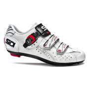 Sidi Genius 5 Fit Carbon Cycling Shoes - White - 2015