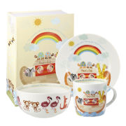 Noah's Ark 3 Piece Breakfast Set