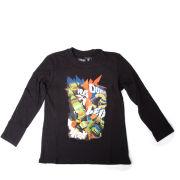 Teenage Mutant Ninja Turtles Kids' T-Shirt - Black