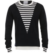 Humor Men's Otto Stripe Knit - Blue