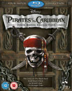 Pirates of the Caribbean Box Set (1-4 plus bonus disc)