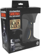 SteelSeries Siberia V2 Full Size Headset - Black / Gold Plated