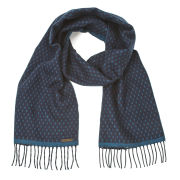 Ted Baker Men's Reverse Colour Scarf - Navy