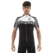 Santini Zest Short Sleeve Jersey - Black