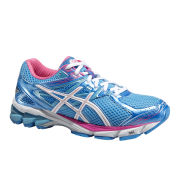 Asics Women's GT-1000 3 Structured Cushioning Shoes - Turquoise/White/Hot Pink