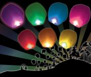 Rainbow Lanterns 7 Pack