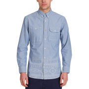 Mas-if Men's Spear Chambray Shirt - Denim