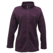 Regatta Women's Cathie Full Zip Fleece Top - Purple Cordial