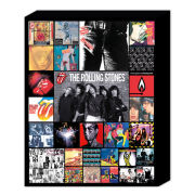 The Rolling Stones Discography - 50 x 40cm Canvas