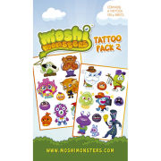 Moshi Monsters Characters - Tattoo Pack