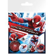 The Amazing Spider-Man 2 Rise of Electro - Badge Pack - 10 x 15cm