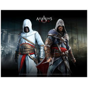 Assassin's Creed - Altiar And Ezio - Wallscroll