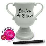 Trophy Mug - White