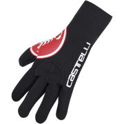 Castelli Diluvio Gloves - Red Scorpion