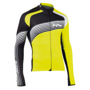 Northwave Men's Bullet Long Sleeve Jersey - Fluorescent Yellow/Black