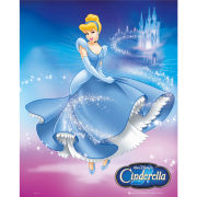 Disney Princess Cinderella Dress - Mini Poster - 40 x 50cm