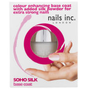 Nails Inc. Soho Silk Base Coat (10ml)