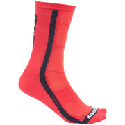 Sugoi Rs Crew Sock - Red