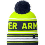 Under Armour Men's Retro Pom Hat - High Vis Yellow