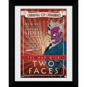 Batman Circus Two Face - 30 x 40cm Collector Prints